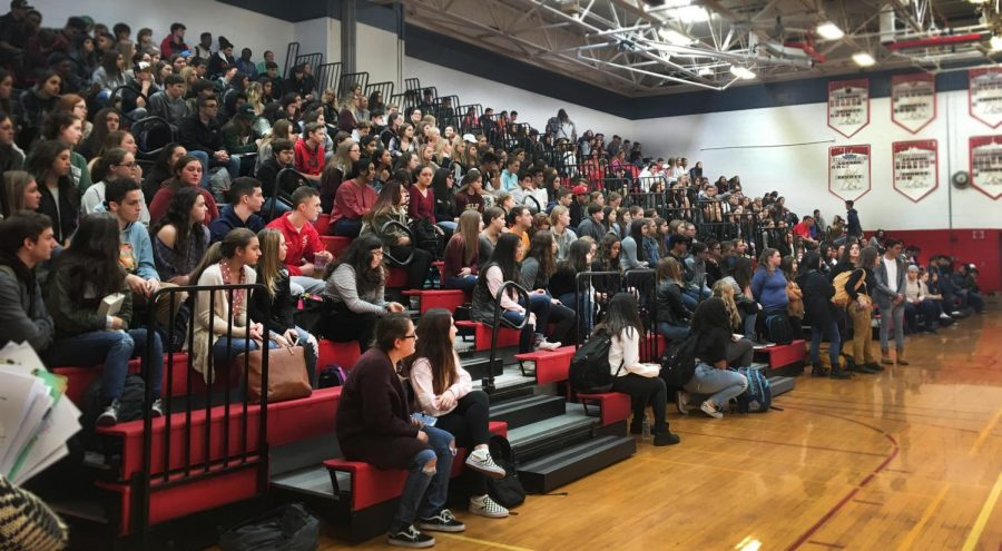 East Joins National Student Walkout