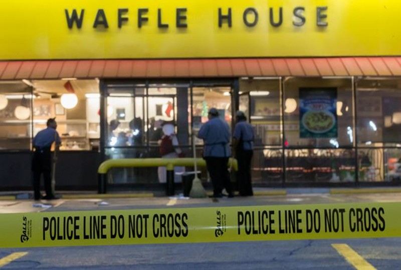 The Waffle House where Reinking open fired upon innocent civilians.