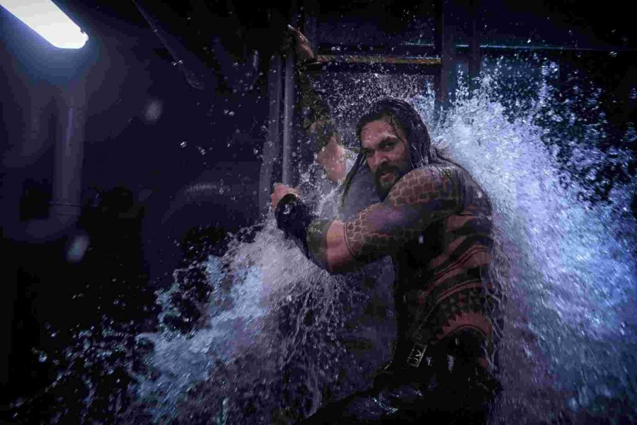 Aquaman causes tidal waves at the worldwide box office.