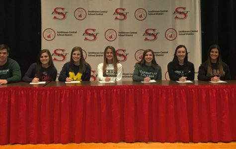 Smithtown East's NLI Signing Day